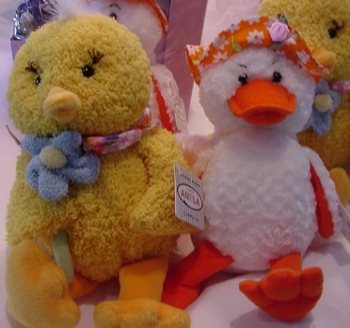 Plush Toys Chicks & Ducks