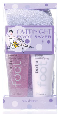 Spa Sister Overnight Foot Saver