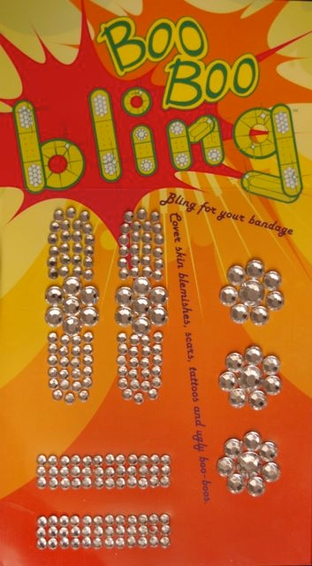 Boo Boo Bling Bandage Cover - Clear