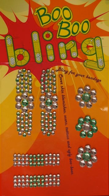 Boo Boo Bling Bandage Cover - Lime