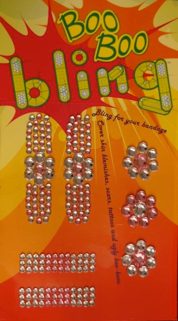 Boo Boo Bling Bandage Cover - Light Pink