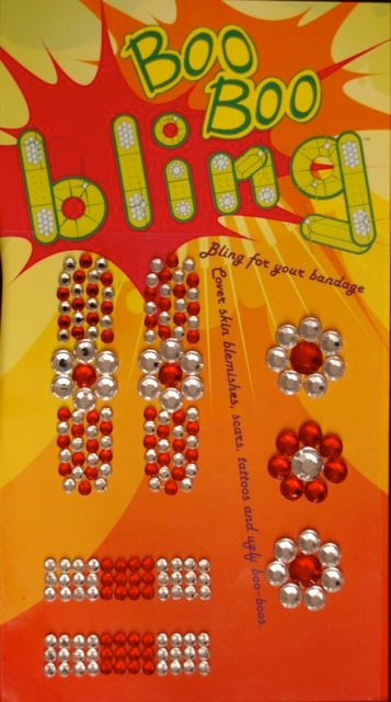 Boo Boo Bling Bandage Cover - Red