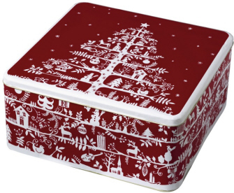 Boston International Large Cookie Tin Gift