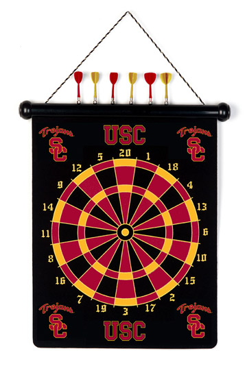 Magnetic Darts Game USC or UCLA