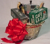 Espresso Lovers Gift Basket