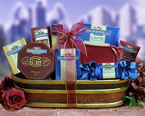 Totally Ghirardelli Gift Basket