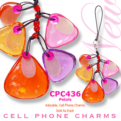 Cell Phone Charm Petals