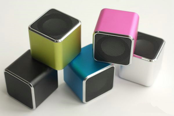 Mini Cube Speakers