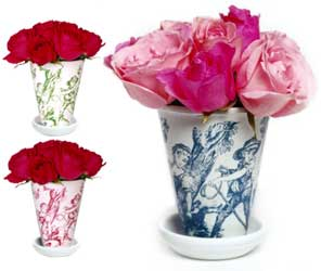 Toile Flower Pot