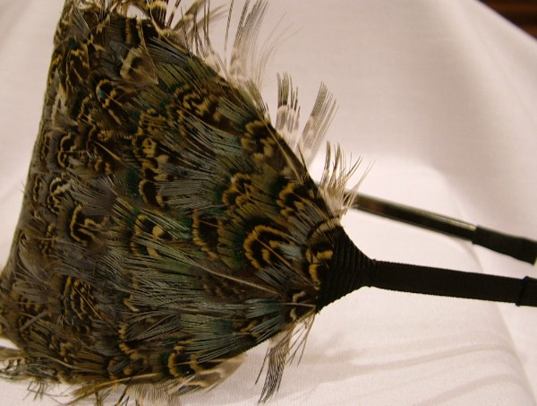 Dazzlicious Heather Feather Headband