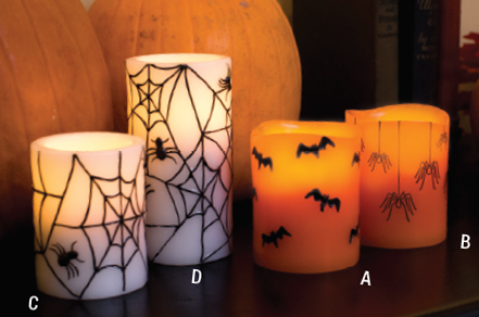 Halloween Battery Operated Candles