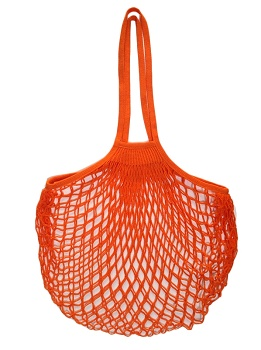French Artists Club - Large Handle Net Bag - Orange