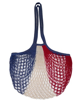 French Artists Club - Large Handle Net Bag - Red White Blue