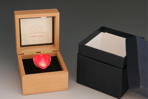 Fellini Arts-In Your Eyes Lighted Heart Thought Box