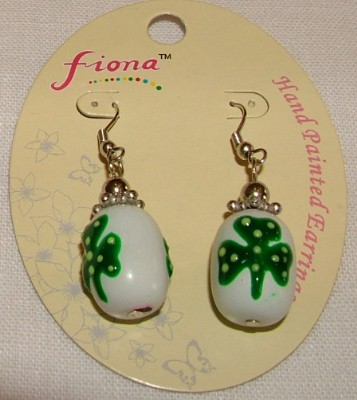Fiona Earrings - Shamrock