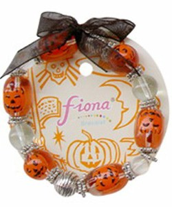 Stretch Bracelet Pumpkins