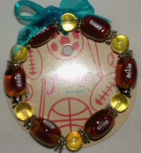 Stretch Bracelet Football