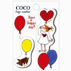 Coco Page Marker - Have a Happy Day