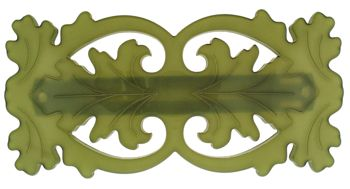 Laurent Olivier Filigree Barrette Olive or Anis