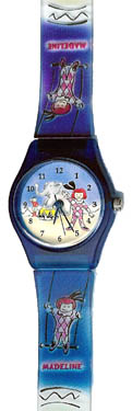 Madeline Jelly Watch - Madeline at the Circus