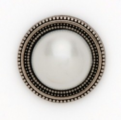 MagneButton High Dome Pearl Magnetic Button
