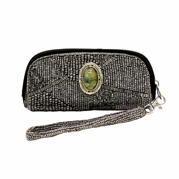 Mary Frances Eye Glass Case - Riverstone