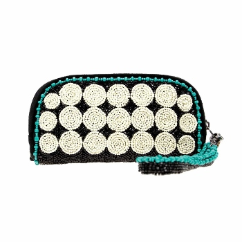 Mary Frances Eye Glass Case -Spin Out