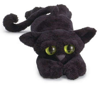 Manhattan Toy Lanky Cats Ziggy Black