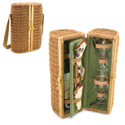 Picnic Time Bacchus Deluxe Wine Basket