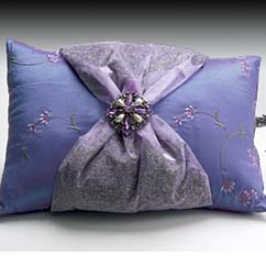 Sonoma Lavender Broach Pillow