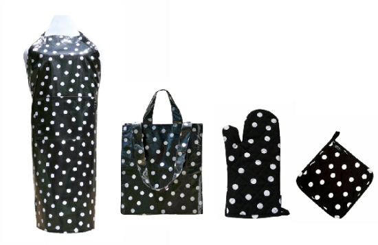 Two Lumps of Sugar - Polka Dot Apron Set