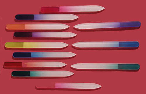 3 Glass Nail Files