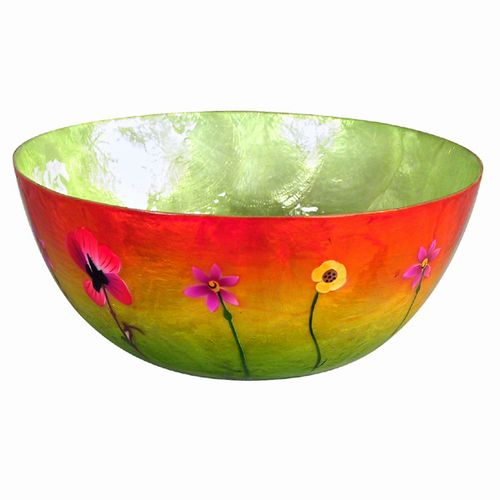 Pansy Sunset Bowl