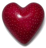 Soapstone -Small Heart Paperweight
