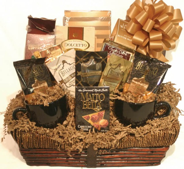 Deb's Treats Coffee Lovers Gourmet Gift Basket