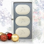 Eco-Luxury Original Trio  3 Ovals -Reindeer