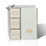 Eco-Luxury Soap Courtesy Gift Set -Gold Foil Embossing