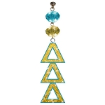 MagTrim Magnetic Light Charm - Delta Delta Delta Logo Bling Ornament