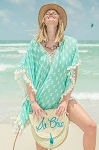 Z&L Europe - Turquoise Pineapple Cover-Up