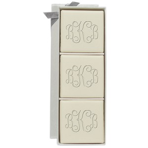 Eco-Luxury Soap Mini Hostess - 3 Square Bars