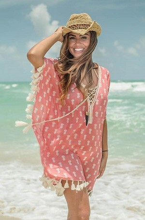 Z&L Europe - Red Pineapple Cover-Up